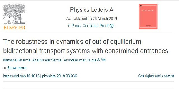 The robustness in dynamics of out of equilibrium bidirectional transport systems with constrained entrances.