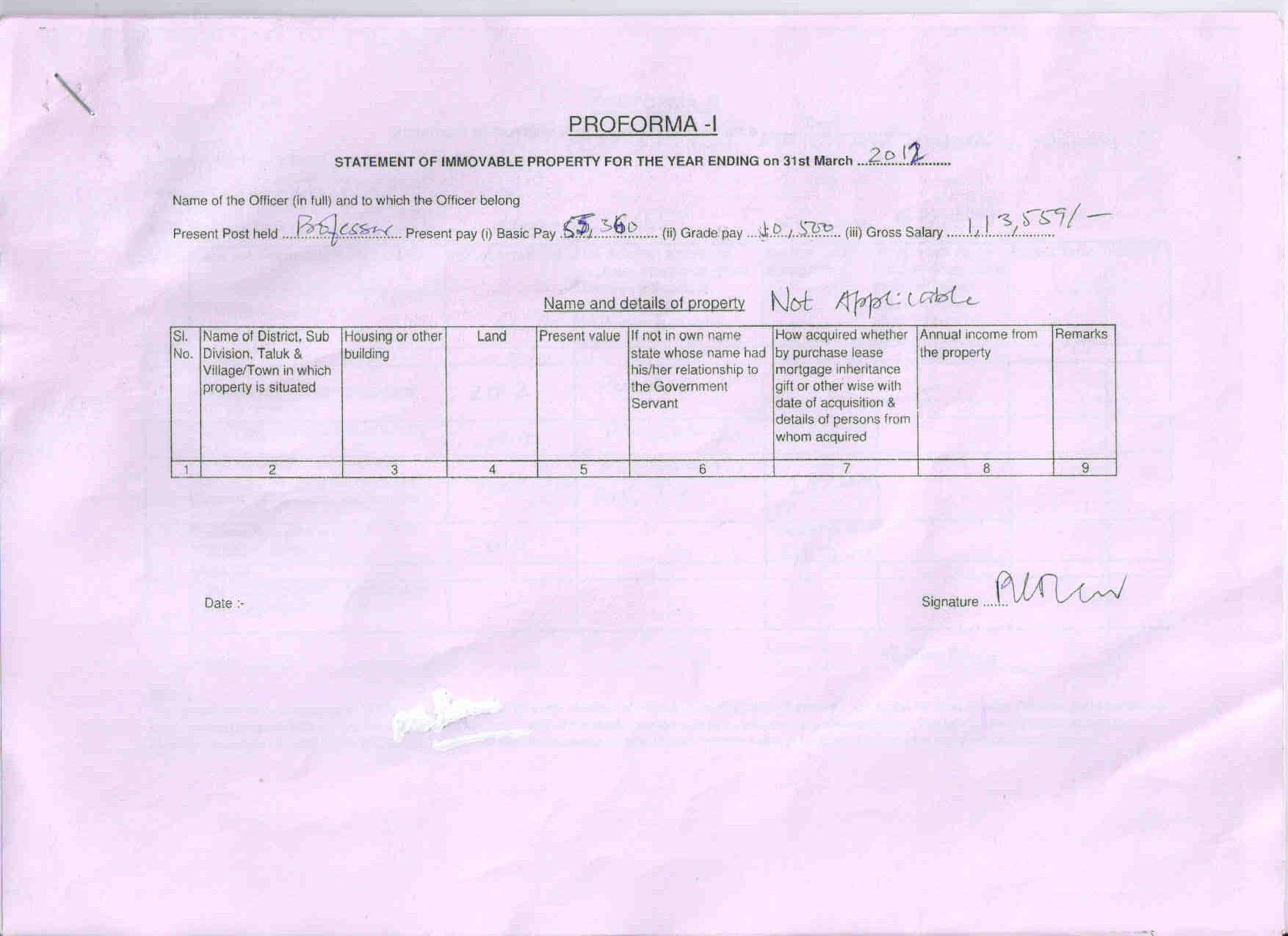 grade pay details